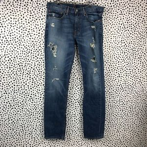 Levi's Deconstructed Boyfriend Jeans size 34/34